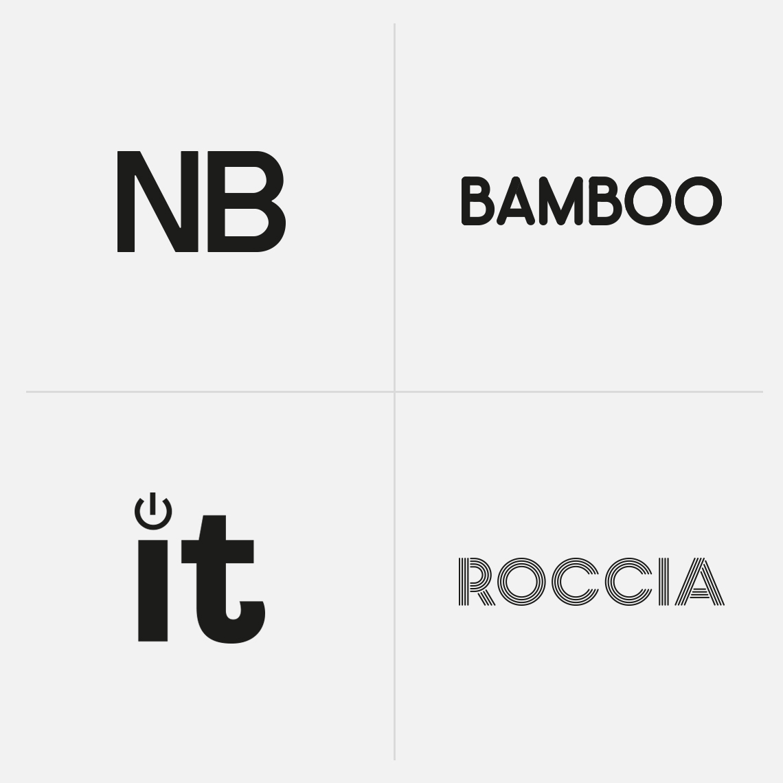 NB Bamboo Clever IT Roccia Brand Identity